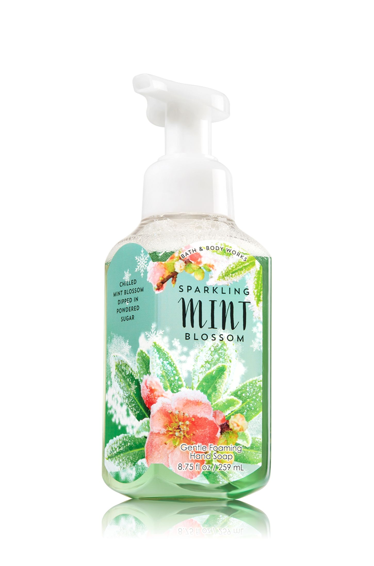 Sparkling Mint Blossom Gentle Foaming Hand Soap Soap Sanitizer