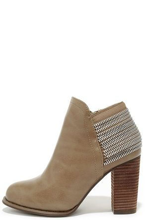 All Lined Out Taupe High Heel Booties   Clothing   Pinterest   Chaussure,  Vetements et Mode 97b9e862601a