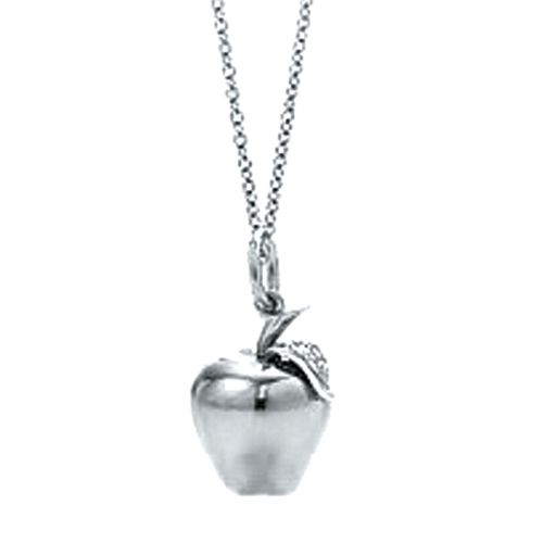 Tiffany necklaces jewelry big apple pendant silver necklace this tiffany necklaces jewelry big apple pendant silver necklace this tiffany jewelry product features category mozeypictures Image collections