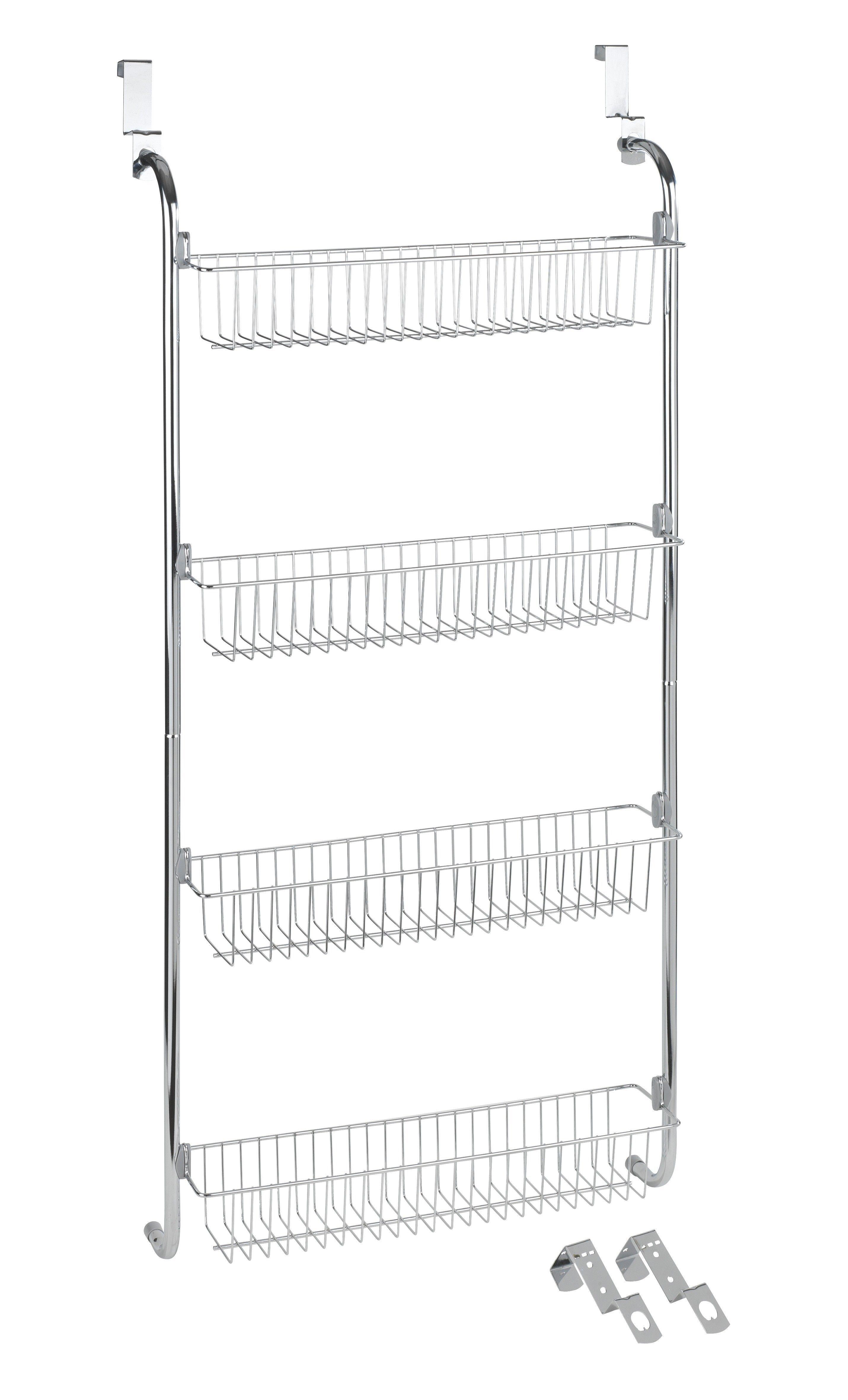 Türregal Mit 4 Körben 1 Badezimmer Accessoires Schrank Organizer Die Moderne Hausfrau
