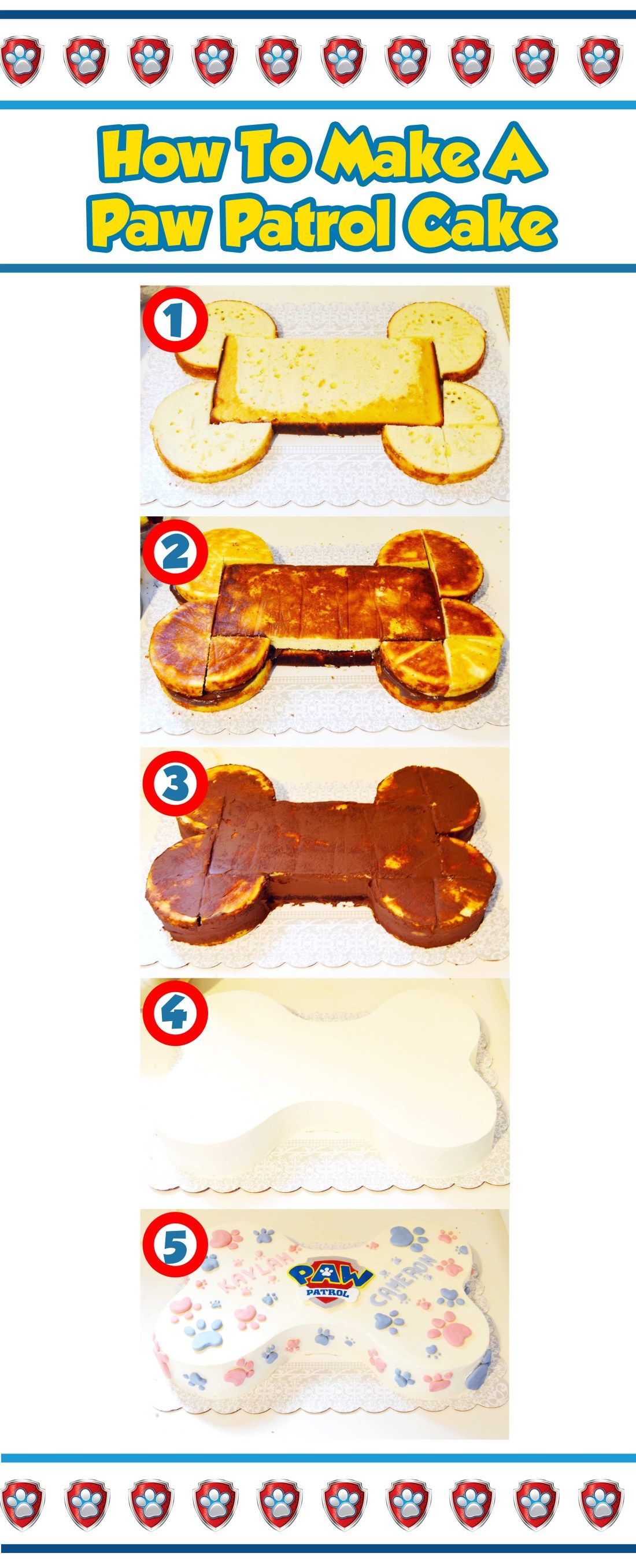 how to make a paw patrol cake #boybirthdayparties
