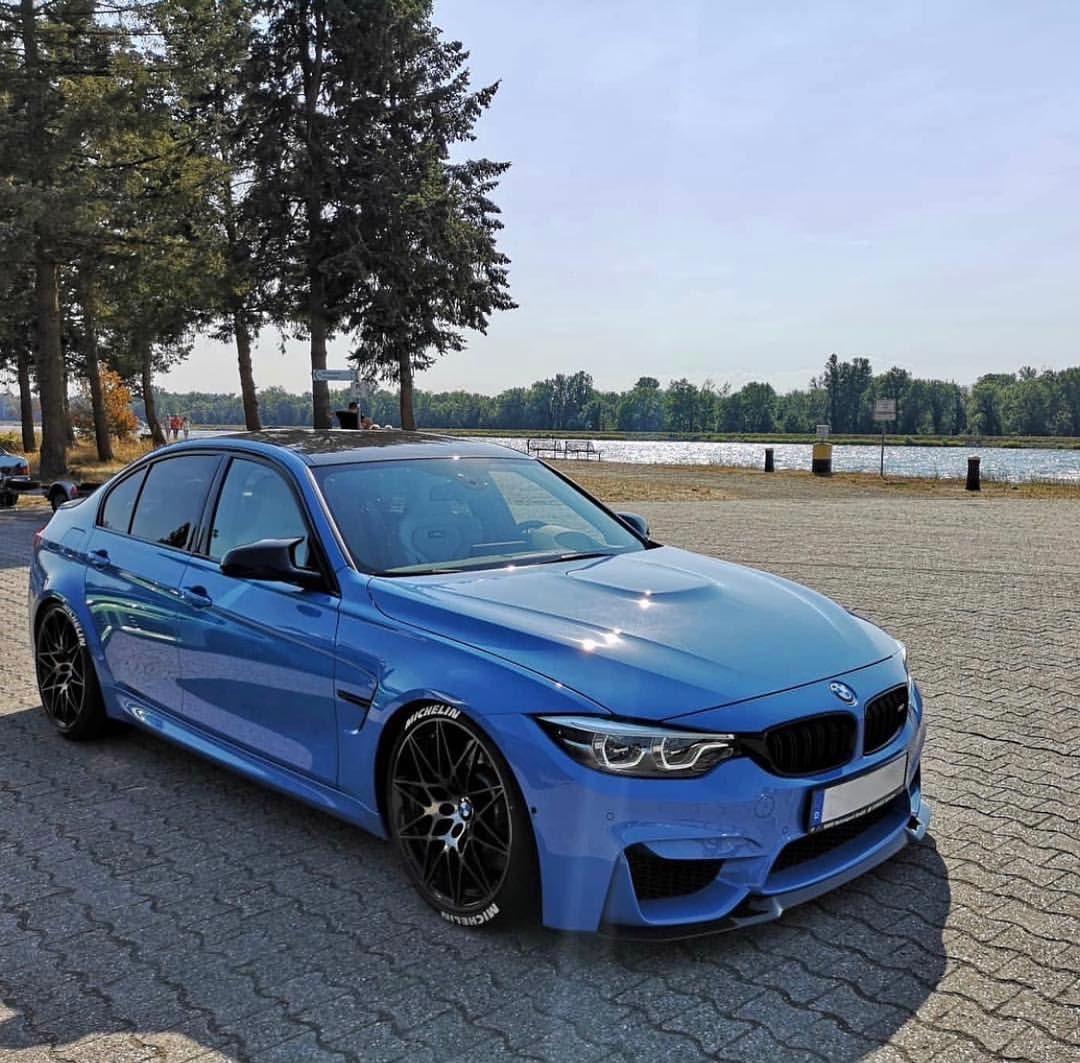 BMW F80 M3 In Yas Marina Blue
