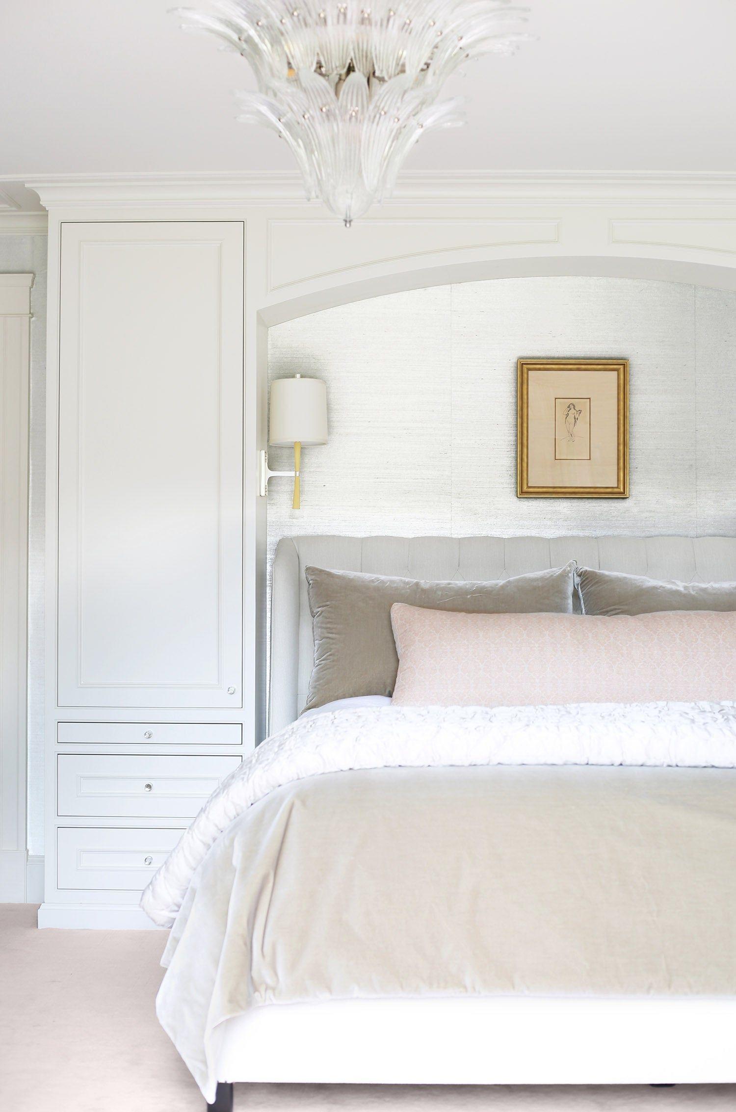"See more of Lisa Tharp Design's ""DREAMING OF PARIS"" on 1stdibs | Bedroom renovation, Luxe bedroom, Master bedroom design"