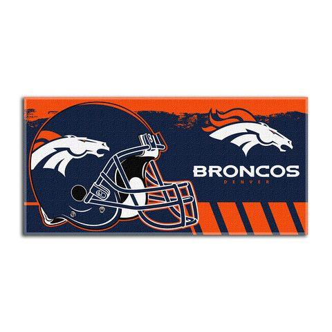 5e926d2c Denver Broncos NFL Fiber Reactive Beach Towel (Gameplan Series ...