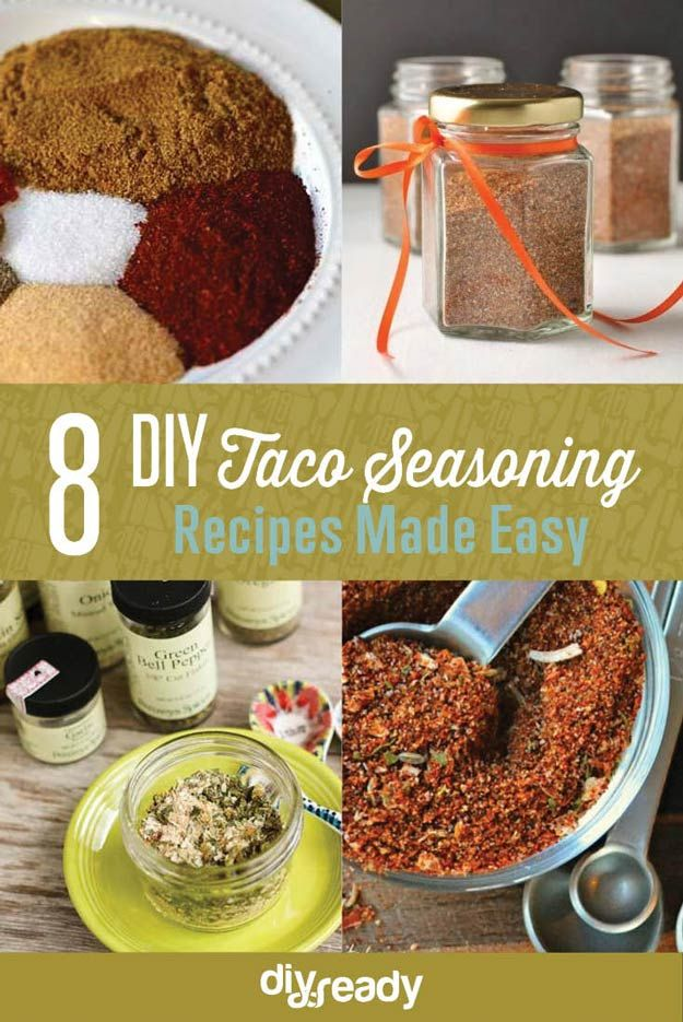 Taco Seasoning Recipes DIY Projects Craft Ideas & How To's for Home Decor with Videos
