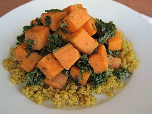 Sweet Potato and Kale Hash 1
