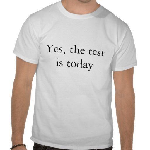 Photo of Teacher ware – Test T-Shirt | Zazzle.com