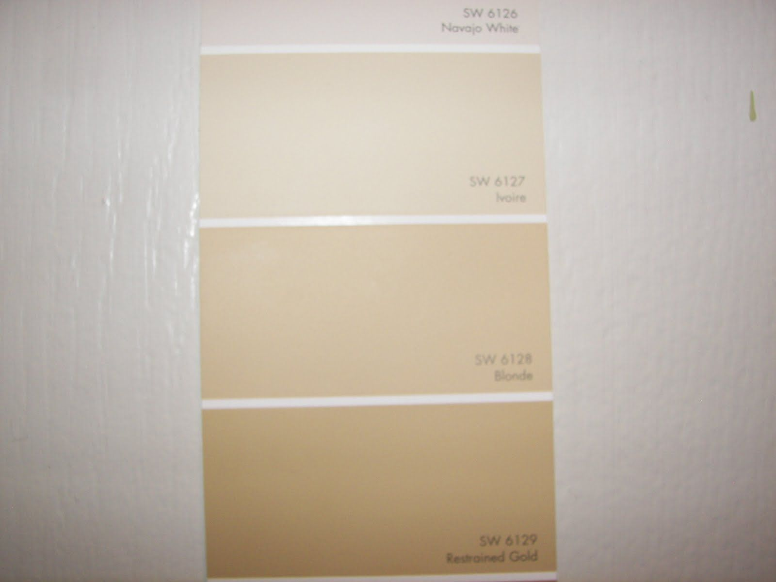 Sherwin Williams Blonde Paint Strip As Sw Blonde Interior Paint