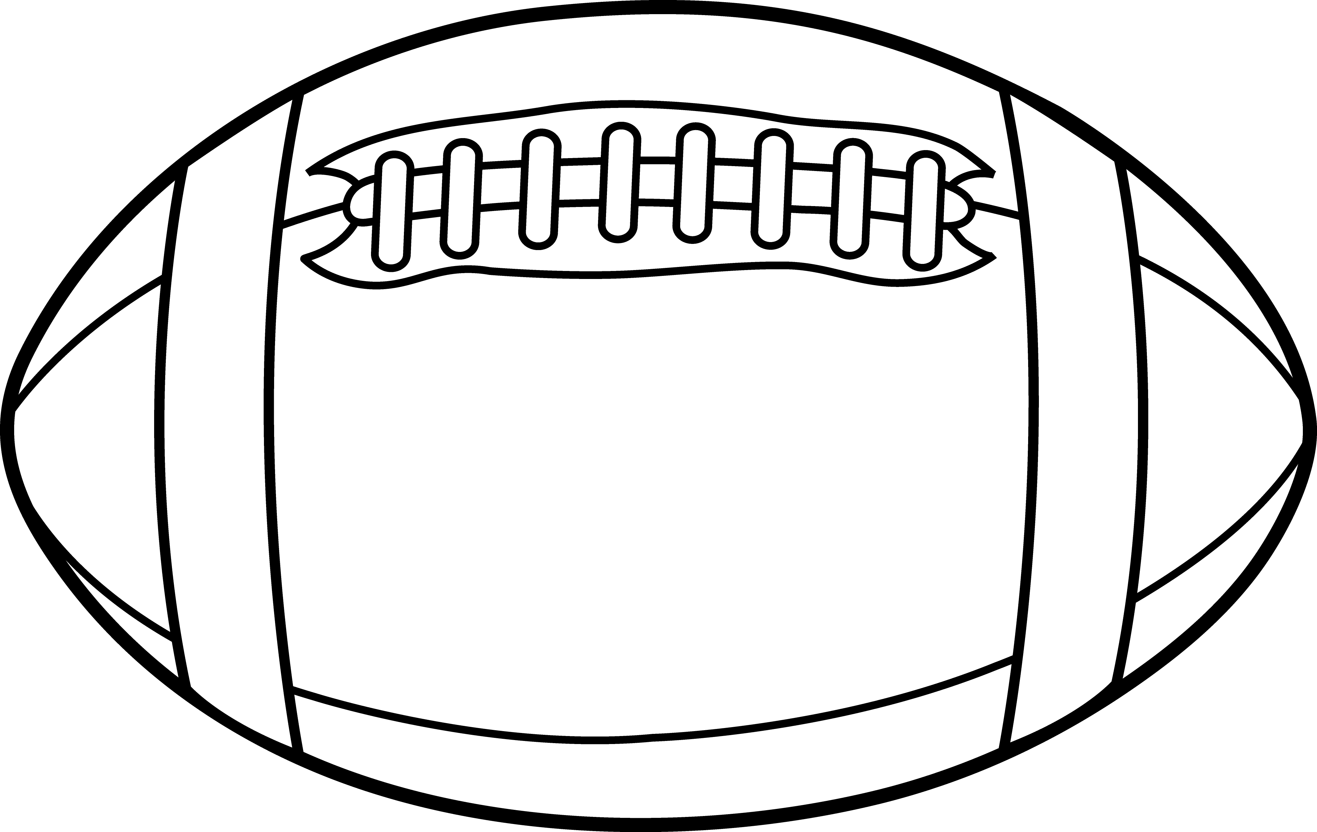 Pin De Enosart Com En Black And White Clipart Balones De Rugby Plantillas Para Dibujar Imprimir Sobres