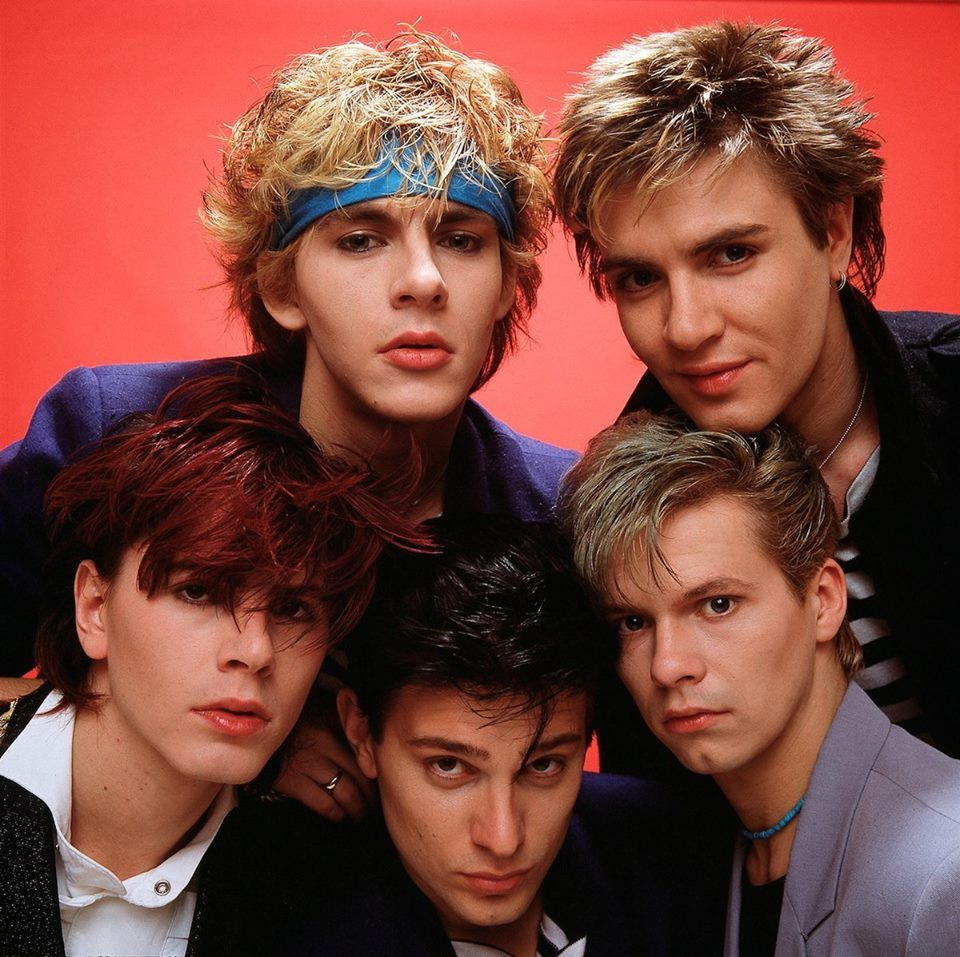 Rock hairstyle boy duran duran  in love with  different british classic rock boys