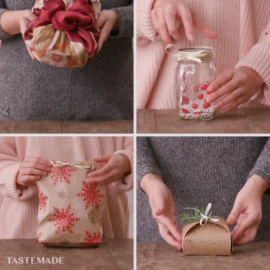 Wrapping Hacks #creativegifts