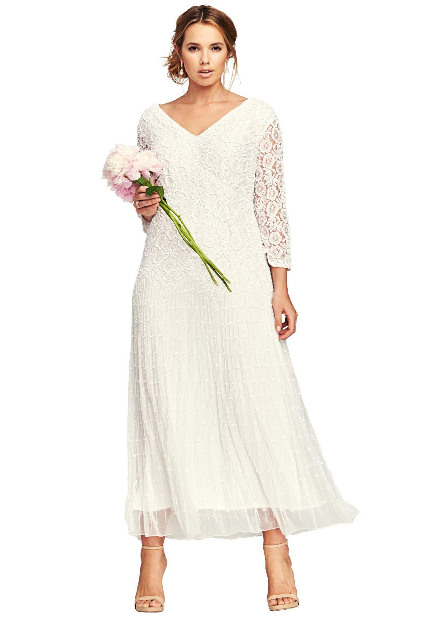 1c5e418bb5f Beaded Empire Dress by Pisarro Nights