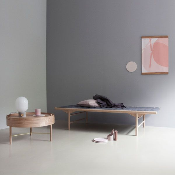 Menu Daybed, natural oak / grey wool | Sofas | Furniture | Finnish
