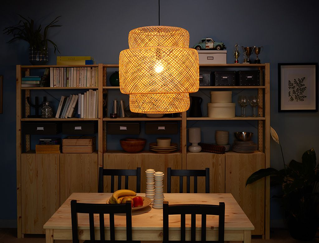 the best attitude aeab9 f6263 SINNERLIG pendant lamp bamboo in 2019 | Home decor, Eclectic ...