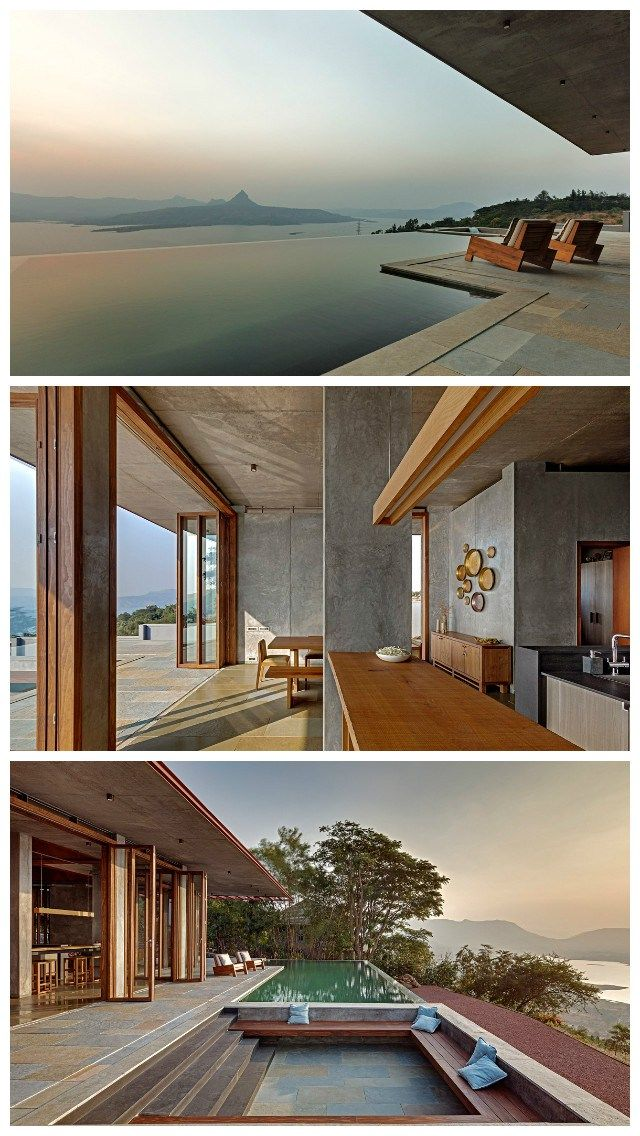 Modern Architecture Of Holiday Home In Heart Of Western Ghats