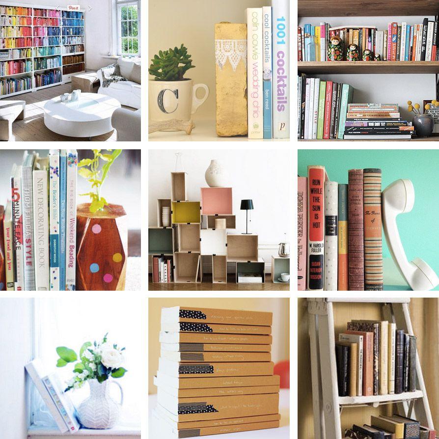 9 idées diy pour ranger vos livres | clones n clownsaimee wood