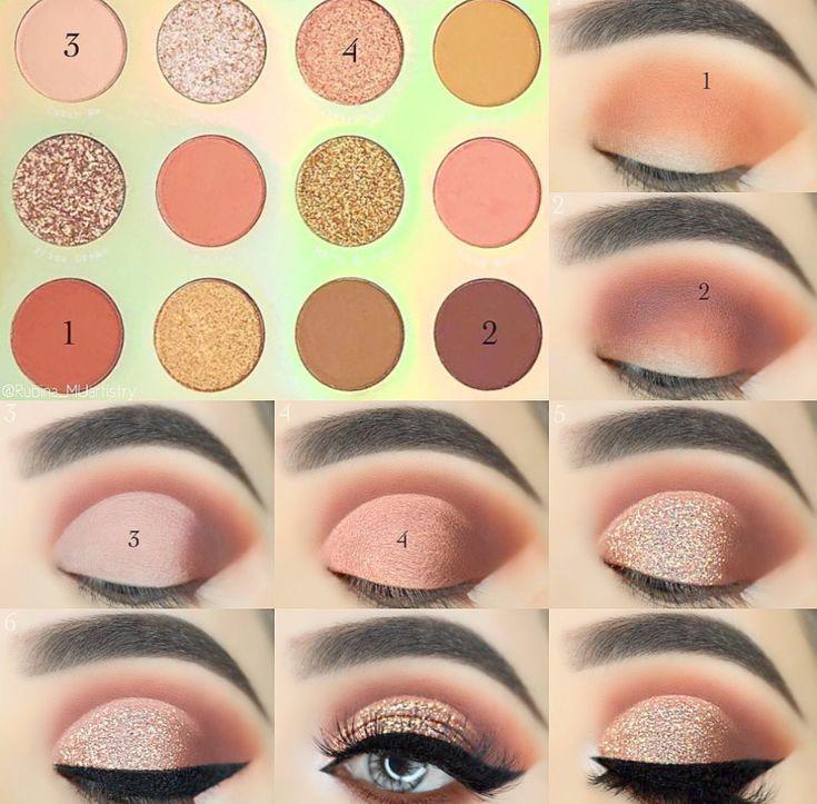 Make-up für immer Augen Make-up Entferner lange Make-up sieht rotes Haar – #Aug…