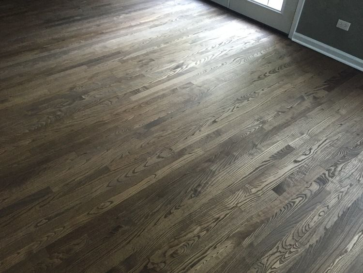 Our Latest Project Refinishing Light Floors and Making