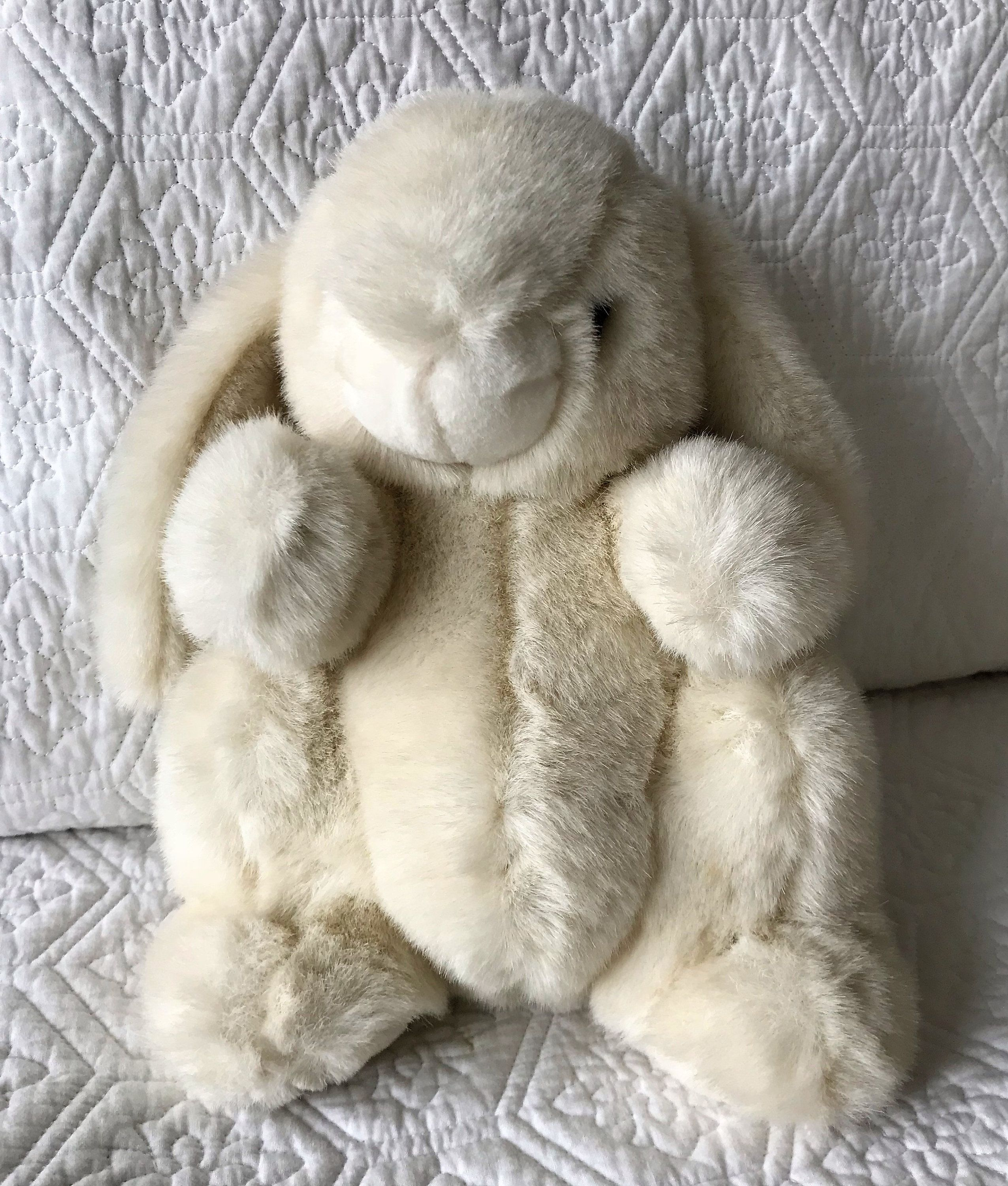 Plush Bunny Westcliff Collection Easter Bunny Vintage Plush