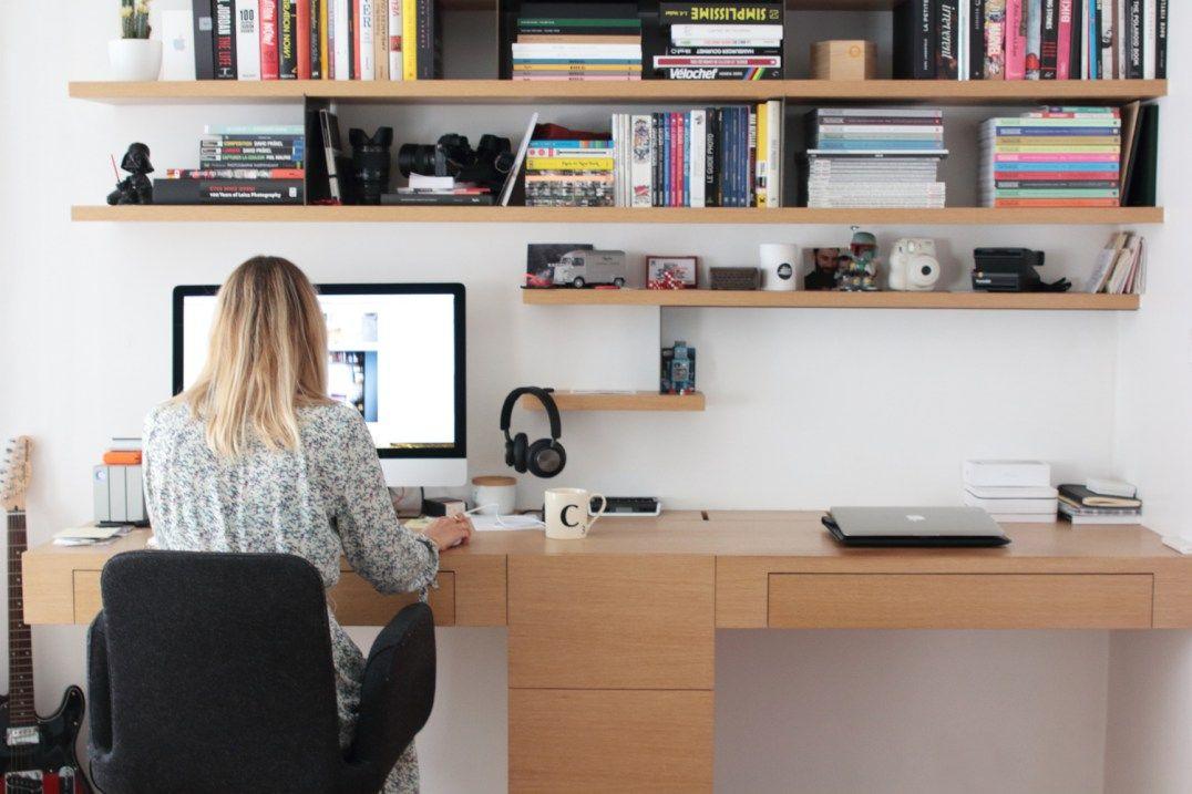 Les bonnes idées à piquer pour un bureau cosy à la maison pisalna