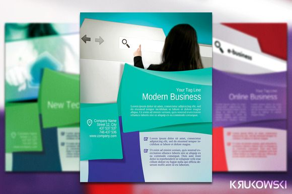 Business Flyer Poster Business Flyers Print Templates And Fonts