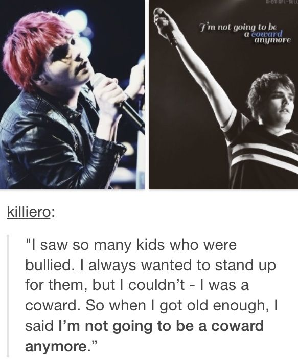 Gerard Way Quote My Chemical Romance Band Quotes Romance