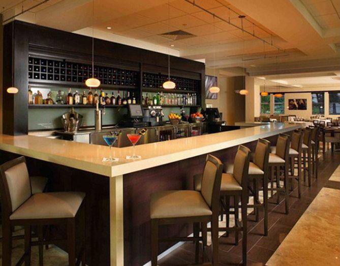 L Shaped Solid Surface Pub Bar Counter Tw Mact 029 Bar