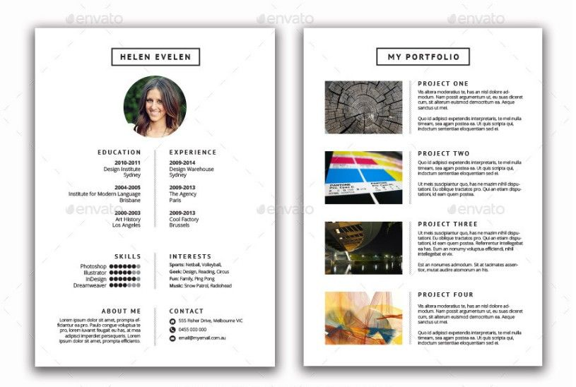 15+ Photographer Resume Template Word, PSD Format