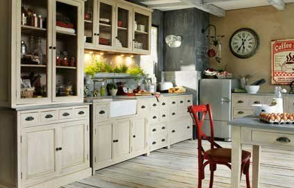 Dossier une d co de style campagne deco fr campagne for Cuisine style campagne chic