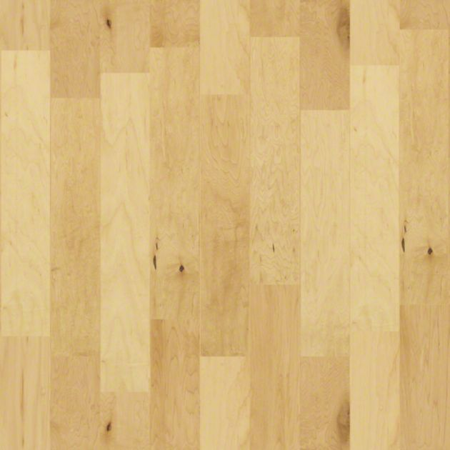 """SW125 Hampshire 5"""" maple engineered plank w/ micro-bevel edges in Maple Natural 00130 from Shaw"""