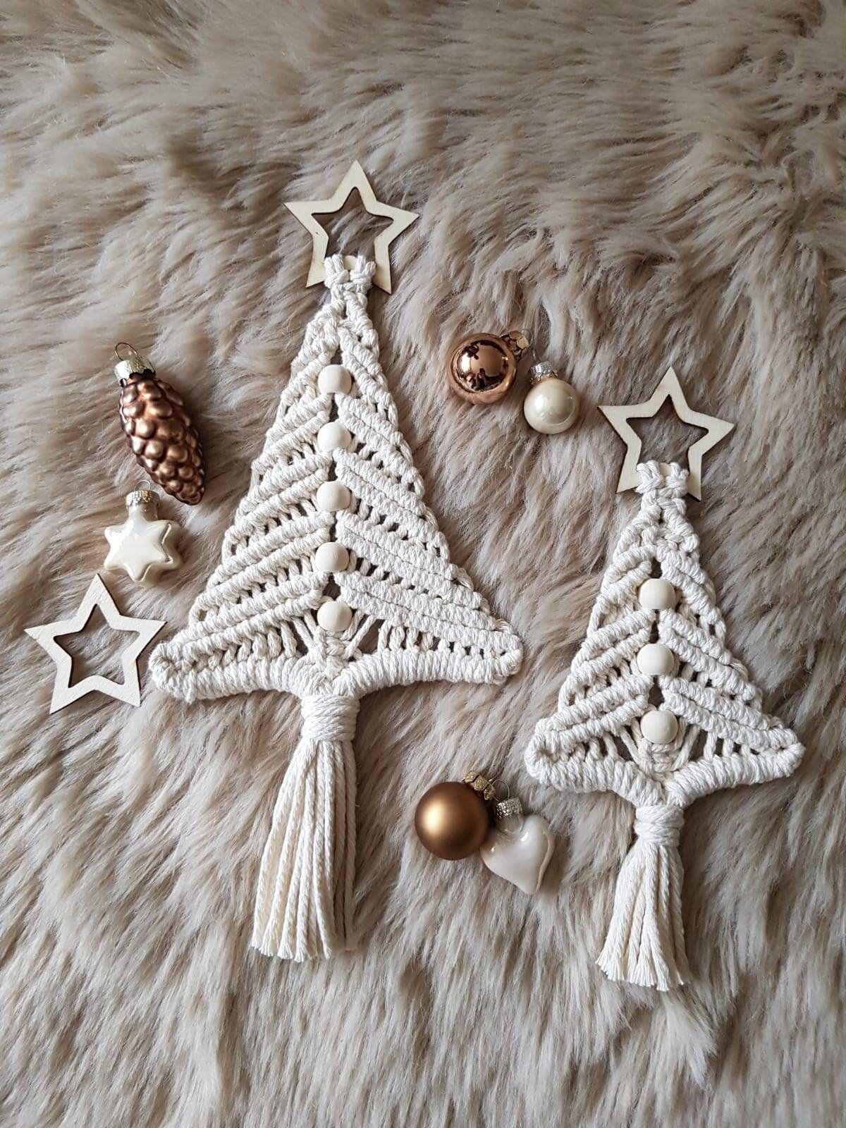 Weihnachtsbaum / Makramee Baum / Christmas Tree / Weihnachtsgeschenk / Wandbehang / Weihnachten / Boho / Weihnachtsdeko