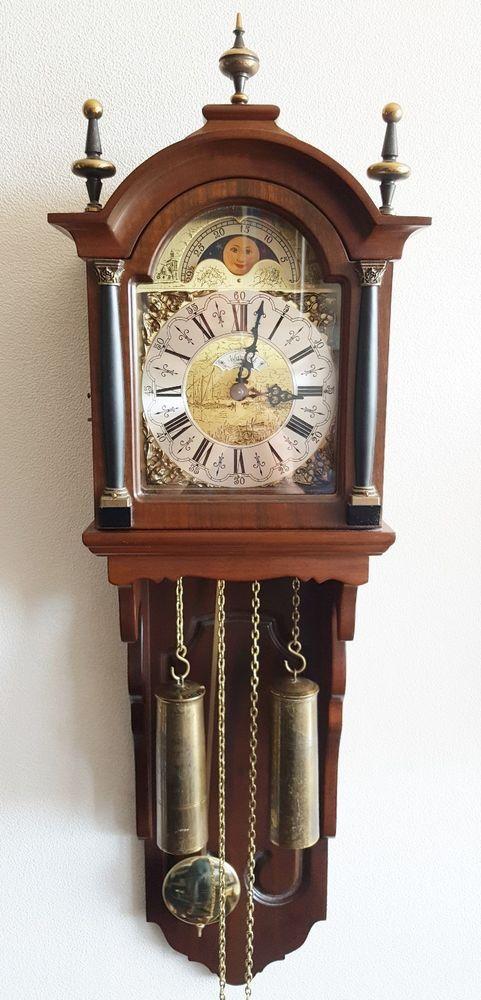 Pin By Vintage Dutch Clocks On Vintage Dutch Clocks On Ebay Clock Ebay Antiques