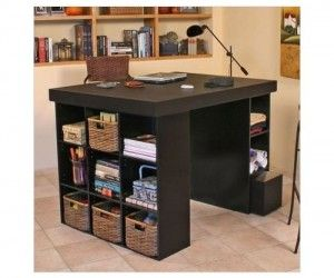 16 Amazing Craft Tables For Scrapbooking Pictures Ideas Craft Room Office Craft Tables With Storage Craft Storage Furniture
