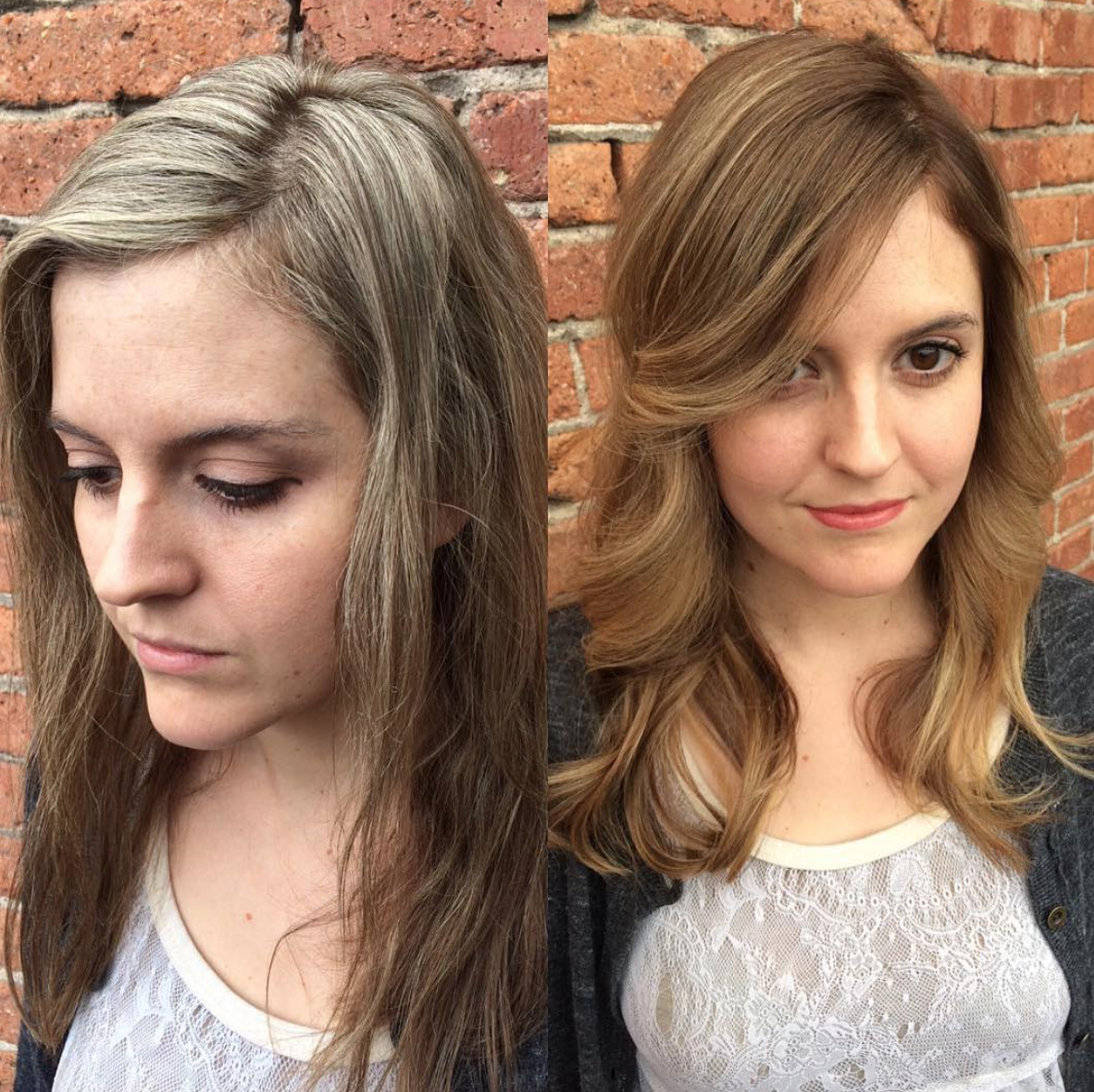 Before After By Jodi Griffith Gt Theory Hair Salon Gt Montana