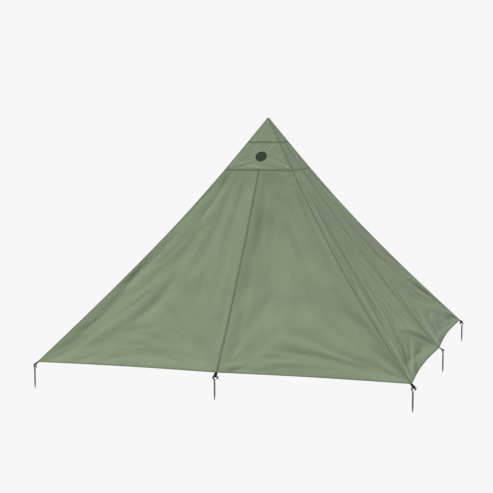 3D Model Floorless C&ing Light Tent - 3D Model  sc 1 st  Pinterest & 3D Model Floorless Camping Light Tent - 3D Model | 3D-Modeling ...