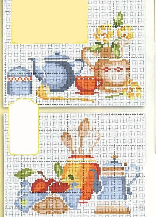 Etamin Mutfak Örnekleri (6) – Elişi Günlüğü | Kaneviçe | Pinterest ...