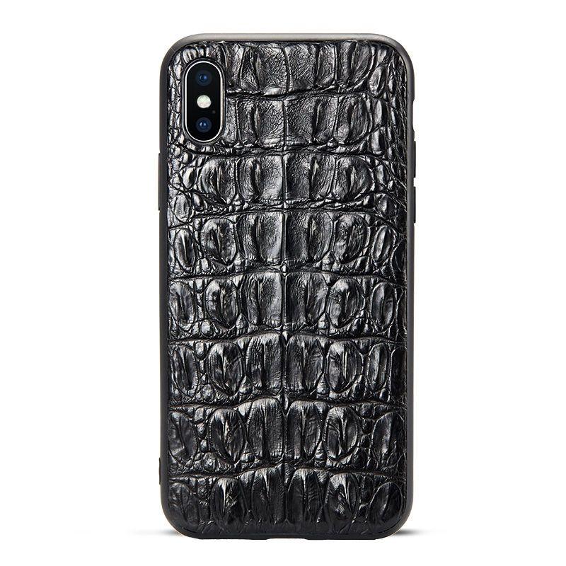 Crocodile skin iphone xs max case alligator skin iphone