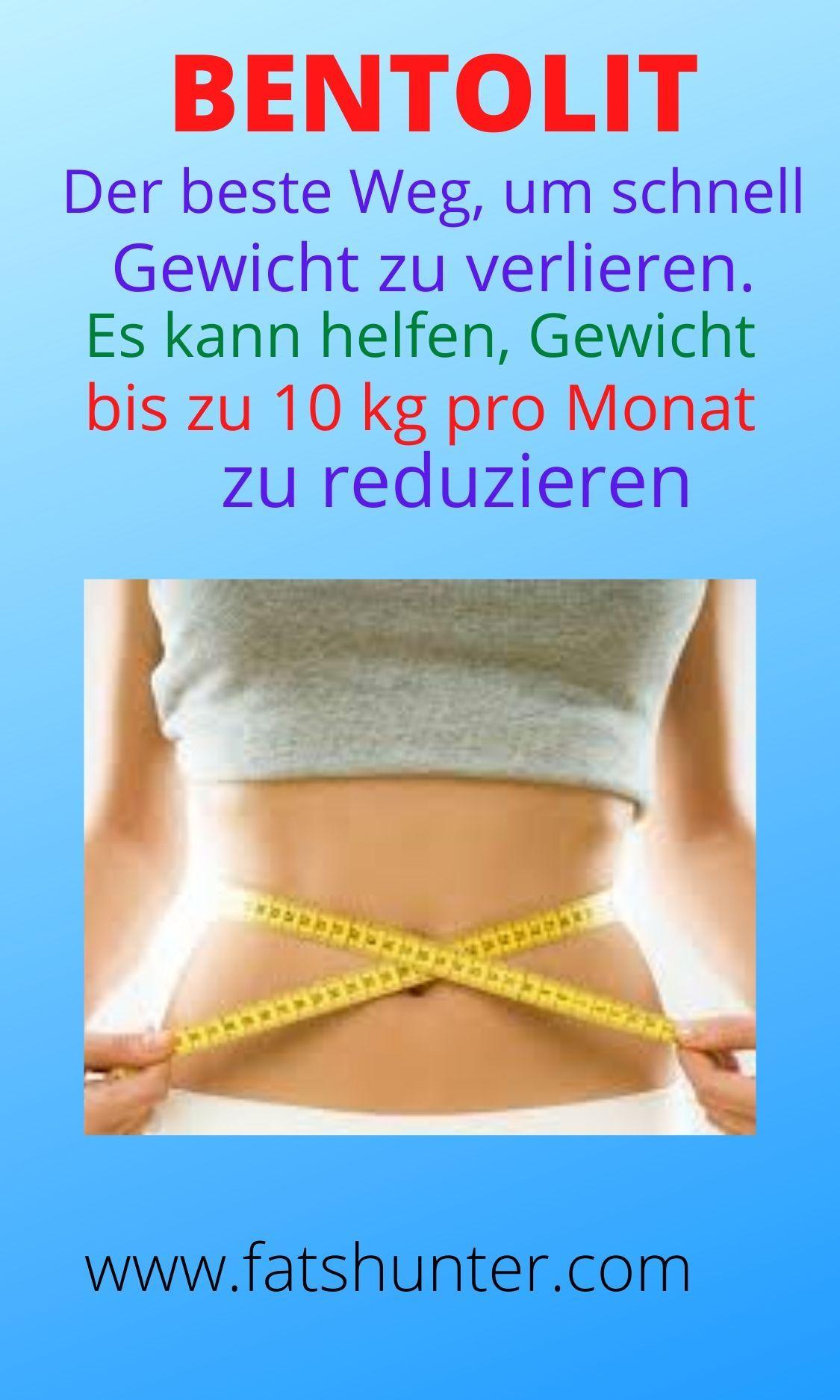 Ergänzung, um schnell Gewicht zu verlieren