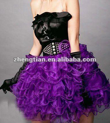 ame3771 beautiful purple tutu dress zhengtianenalibaba