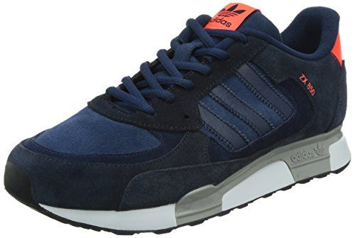 sports shoes 7237e 7b245 ... where can i buy adidas zx flux herren sneakers multicolor azul rot  größe 7.0 144da 0f005
