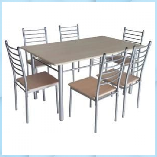 Table De Cuisine Salle A Manger 6 Chaises E En 2020 Chaise Cuisine Cuisine Salle A Manger Table Cuisine Ikea