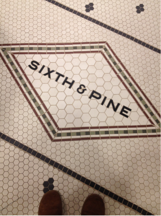 fun tile pattern