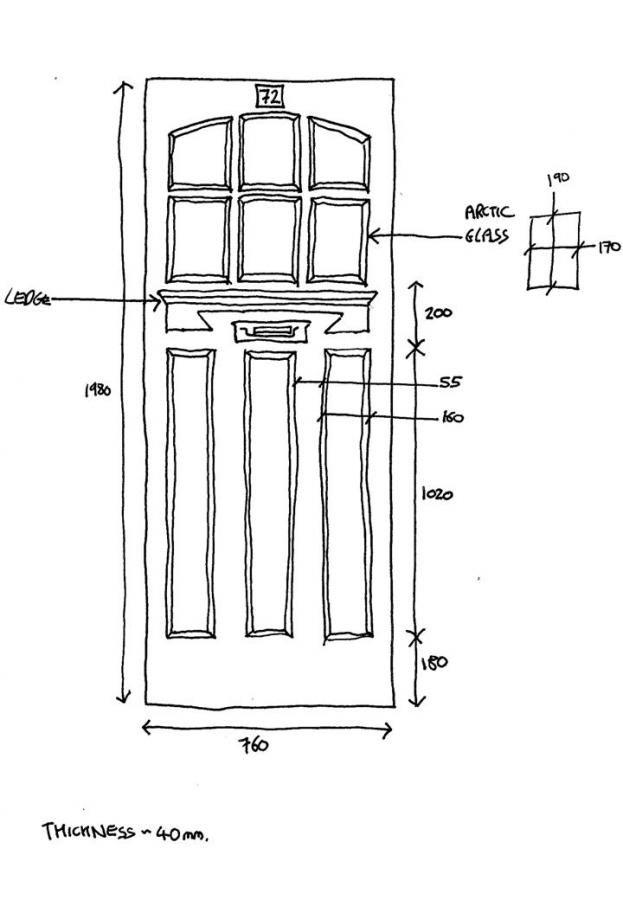 Lovely Exterior Door Sizes   Door Designs Plans