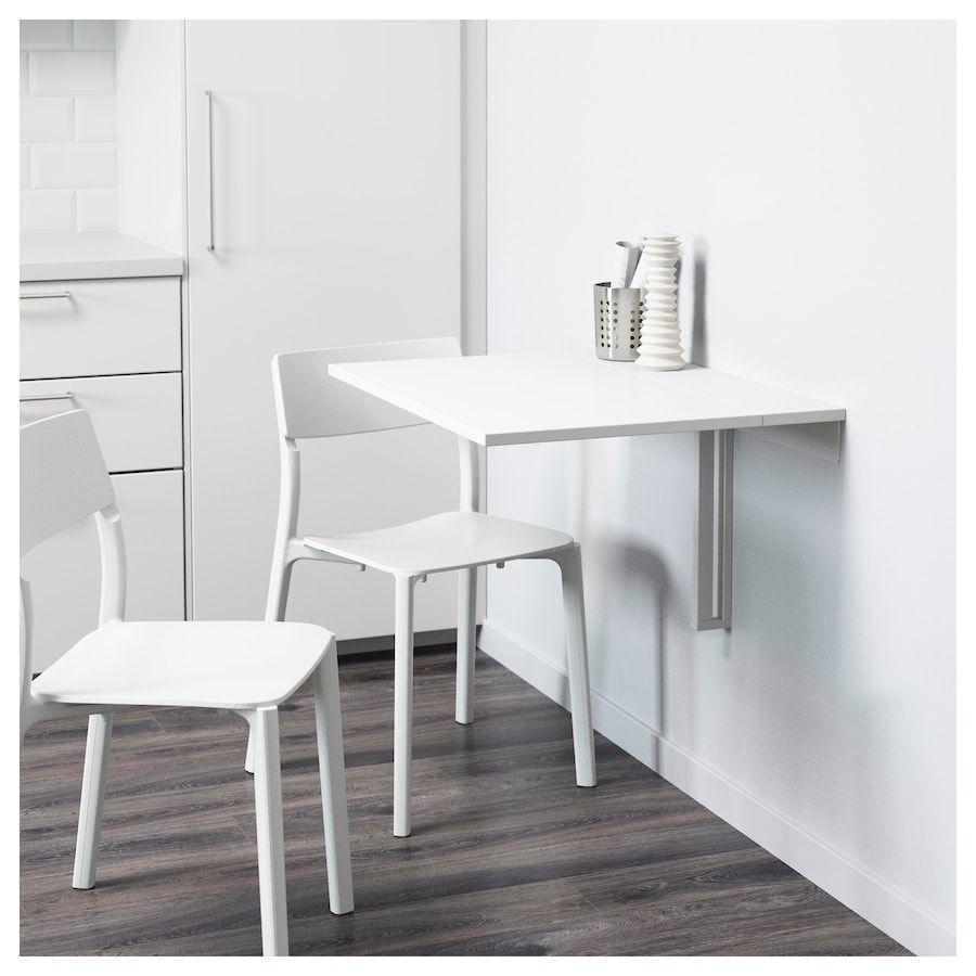 Norberg Wandklapptisch Weiss Ikea Deutschland Wandklapptisch Schreibtisch An Der Wand Befestigt Kuchenmobel