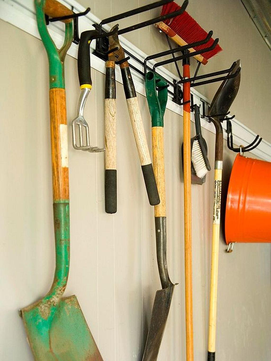 cool 30 garden tool organization ideas https gardenmagz on cool diy garage organization ideas 7 measure guide on garage organization id=68216