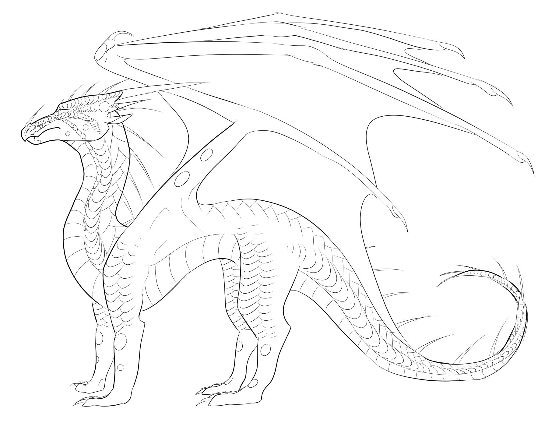 Supercoloring Wings Of Fire Tips