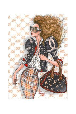 Shamekh fashion illustration