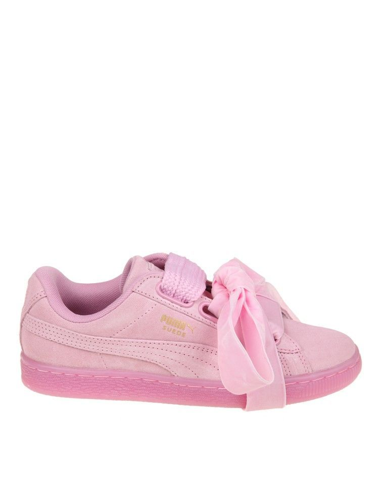 sneaker donna puma suede bow