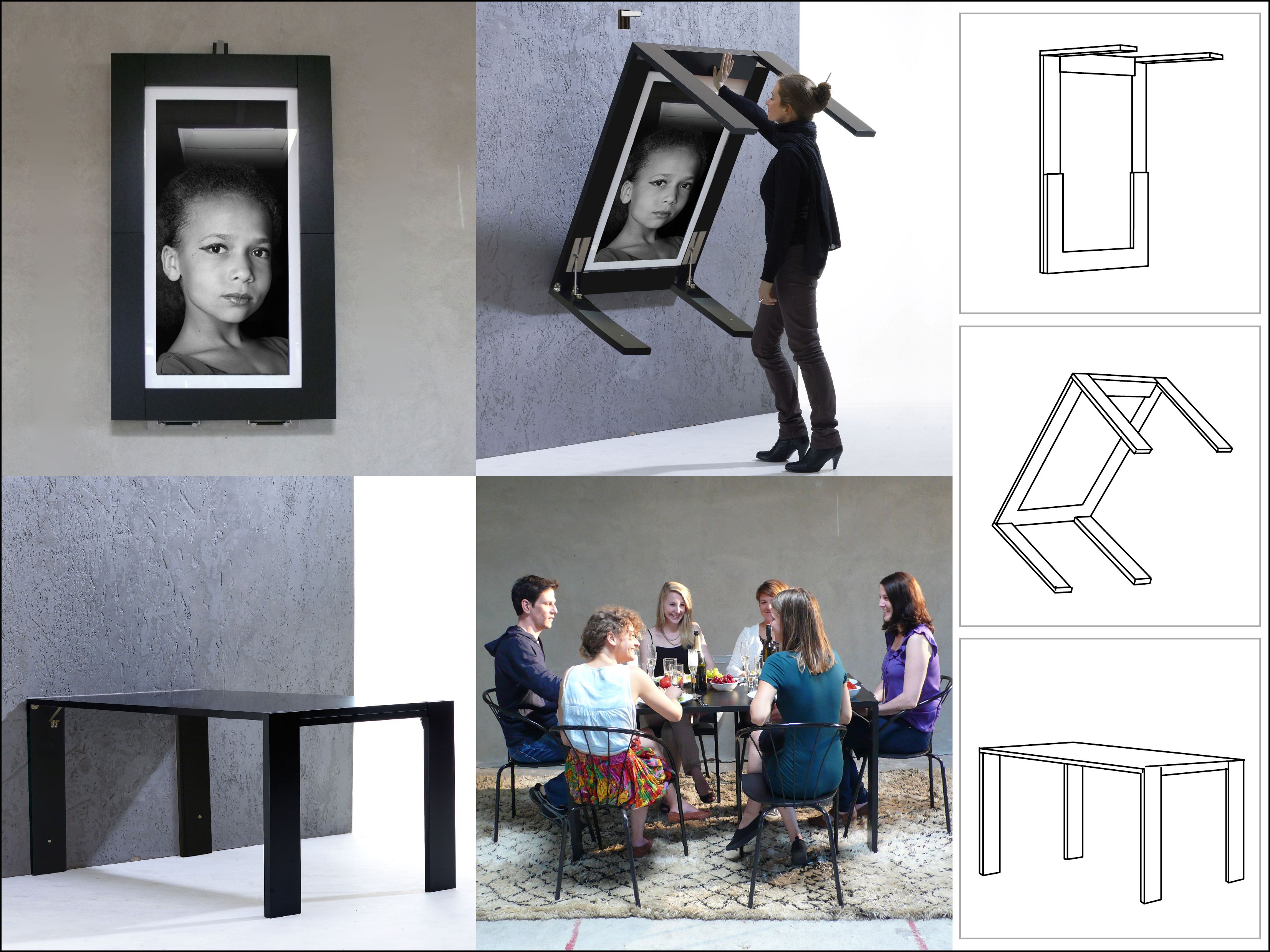 Ivydesign Picture Table In The Middle Of Your Room - Picture-table-by-ivydesign