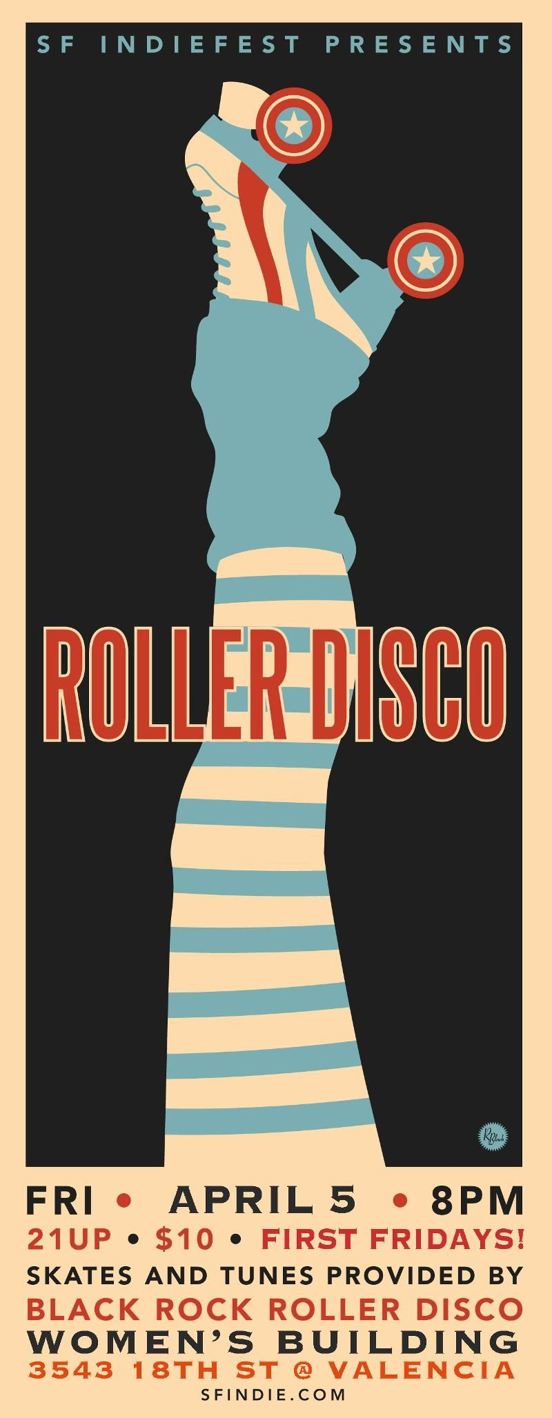 roller disco speed dating